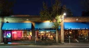 Behind An Unassuming Exterior Is The Unexpectedly Elegant Artichoke Cafe In New Mexico