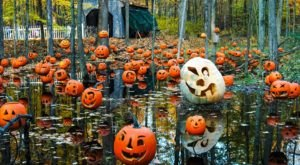 Hike Through A Jack-O-Lantern Lit Enchanted Forest At Carlisle Reservation In Ohio