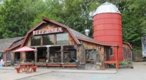 Visit The Beef Barn, The Small Town Burger Joint In Rhode Island That's Been Around Since 1969