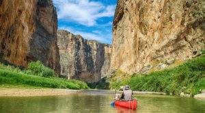 Kayak Through Santa Elena Canyon to Experience The West Texas Mountains In A Whole New Way