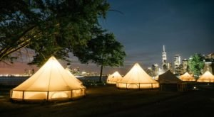 Go Glamping On Governors Island In New York For A Unique Overnight Adventure
