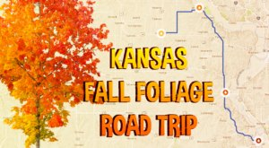 This 2-Hour Drive Through Kansas Is The Best Way To See This Year's Fall Colors