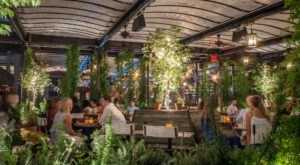 Gallow Green Is An Enchanting Greenhouse Restaurant In New York