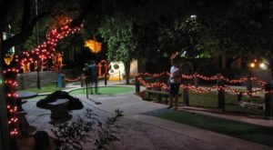 There's A Halloween-Themed Mini Golf Course At Golfland In Arizona