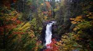 For A Beginner-Friendly Waterfall Trail In Maine That's Great For A Family Hike, Head To Moxie Falls Trail