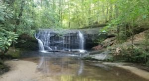 Wildcat Wayside Nature Trail Is A Beginner-Friendly Waterfall Trail In South Carolina That's Great For A Family Hike