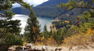 Take A Short Hike To A Stunning Overlook On The Phelps Lake Trail In Wyoming