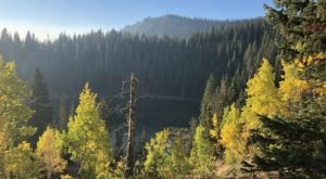 For A Pretty Fall Picnic, Take The Short Trail To Bloods Lake In Utah