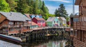 The Historic Inn At Creek Street Is Nestled Along Alaska's Famous Creek Street Boardwalk