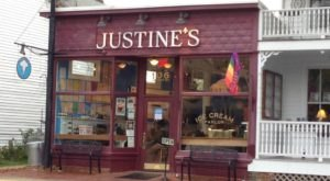 Only A True Ice Cream Lover Can Complete The Titanic Challenge At Justine's Ice Cream Parlour In Maryland