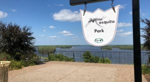 Take A Short Walk To A Stunning Overlook At Mosquito Park In Iowa