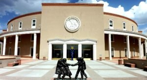 New Mexico's State Capitol Building Is Actually An Art Museum