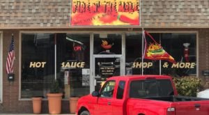 Choose From Over 500 Hot Sauces At Fire 'N The Hole In Oklahoma