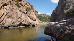 Head To The Narrows Trail In The Wichita Mountains For A Gorgeous Hike In Oklahoma