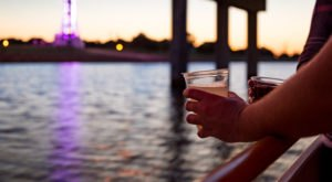 Sip Wine On A Boat When You Hop Aboard The Scenic Oklahoma River Cruise In Oklahoma