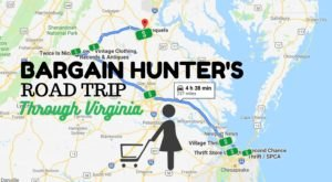 Virginia's Bargain Hunters Road Trip Takes You To Some Of The Best Thrift Stores In The State