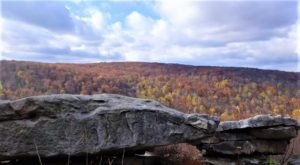 Take A Picturesque Fall Hike To Wolfs Rocks At Forbes State Forest Near Pittsburgh