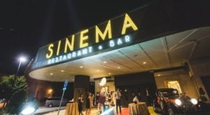 Enjoy Your Dinner In A Converted Movie Theater At Sinema Restaurant And Bar In Nashville