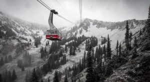 The First Snowfall Of The Season Has Been Reported In Utah