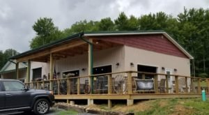 The Farm In West Virginia That's Home To Screech Owl Brewery And The Spent Grain Cafe