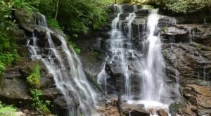 Take A Short Hike To The Rare Natural Wonder In North Carolina Where Waterfalls Merge In The Woods