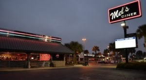 The Best Diner Food Is At Mel's Diner, A 50s Themed Restaurant In Louisiana