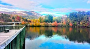 Visit Lake Oolenoy In South Carolina For An Absolutely Beautiful View Of The Fall Colors
