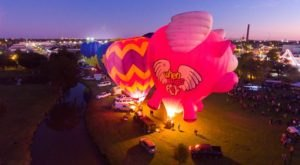 You Don't Want To Miss The Bayou Road Balloon Festival Near New Orleans