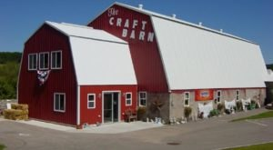 Absolutely Gigantic, You Could Easily Spend All Day Shopping At The Craft Barn In Wisconsin