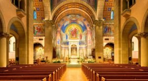 Cathedral Of St. Joseph In West Virginia Is A True Work Of Art
