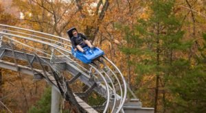 Take A Ride Through Missouri's Fall Foliage On The Runaway Mountain Coaster