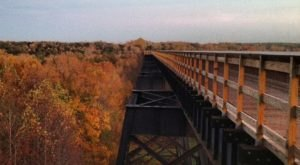 Walk Across High Bridge Trail For A Gorgeous View Of Virginia's Fall Colors