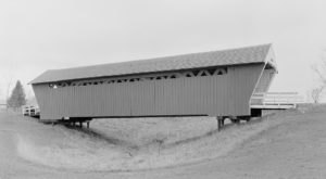 The Oldest Covered Bridge In Iowa Has Been Around Since 1870