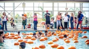 The Floating Pumpkin Patch In Northern California's Roseville Will Be Your New Favorite Tradition