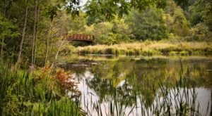 Explore Five Miles Of Trails And Cross The Kalamazoo River At The 140-Acre Whitehouse Nature Center In Michigan