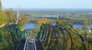 Take A Ride Through Minnesota's Fall Foliage On The Timber Twister Mountain Coaster