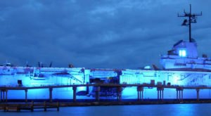 Take A Ghost Tour Of The Haunted USS Lexington WWII Ship In Texas