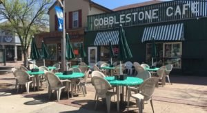 It Doesn't Get Any More Charming Than Cobblestone Cafe, A Downtown Eatery In White Bear Lake, Minnesota
