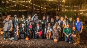Take A Walk On The Spooky Side At The Haunted Forest In Michigan