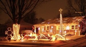 Plan A Visit Now To The Best Neighborhood Christmas Light Display Near Detroit At Bazillion Lights
