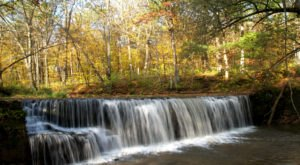 The Hidden Falls At Nerstrand-Big Woods In Minnesota Are Beautiful To Visit Year-Round