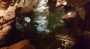 An Unexpected Lake Is Hiding Underground At California Cavern State Historic Landmark In Northern California