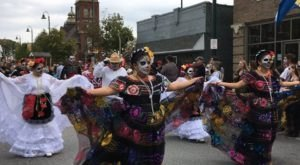 One Of The State's Largest Day Of The Dead Festivals Happens Right Here In Cleveland