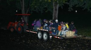 Enjoy A Haunted Hayride At Hells Gate State Park in Idaho For A Frighteningly Good Time