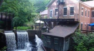 Brushmill By The Waterfall In Connecticut Is Steps Away From A Beautiful Waterfall