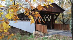 Here Are 7 Of The Most Beautiful Alabama Covered Bridges To Explore This Fall