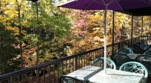 Fall Is A Great Time To Visit Creekside Restaurant & Bar, A Beautiful Creekside Restaurant In Ohio