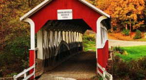 Here Are 7 Of The Most Beautiful Covered Bridges To Explore Near Pittsburgh This Fall