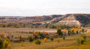 North Dakota's Legendary Theodore Roosevelt National Park Becomes Even More Beautiful In The Fall