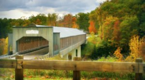 The Longest Covered Bridge In Ohio, Smolen- Gulf Bridge, Is 613 Feet Long